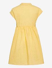 Grunt - Jane Check Dress - kleider - yellow - 1