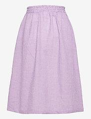 Grunt - Joan Check Midi Skirt - röcke - light purple - 1