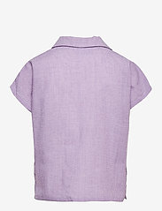 Grunt - Suisu Check Shirt - shirts - light purple - 1
