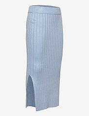 Grunt - Else Knit Skirt - röcke - light blue - 2