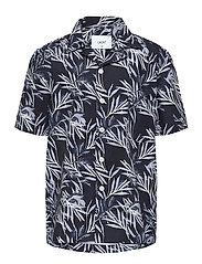 Nate S/S Shirt - BLACK
