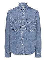 Nicki Denim Shirt - BLUE