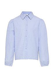 Ora Check Shirt - LIGHT BLUE
