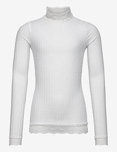Selina Blouse - blouses & tunieken - white