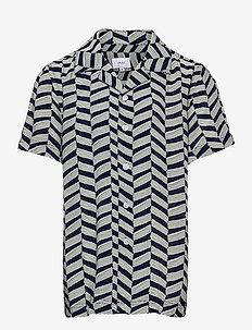 Holger Shirt - hemden - wave blue
