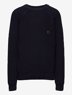 Nick Crew Knit - neuleet - wave blue