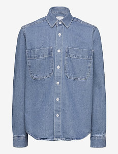 Nicki Denim Shirt - hemden - blue