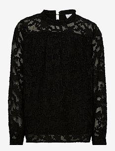 Lima Blouse - blouses & tunieken - black