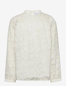 Lima Blouse - blouses & tunieken - off white