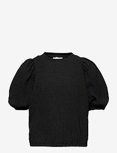 Topy Puff Blouse - blusen & tuniken - black