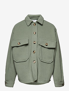 Nuto Fleece Jacket - fleecetøj - granite green