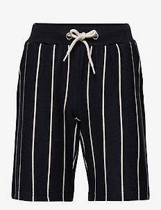 Tons Stripe Shorts - shorts - navy