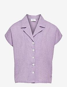 Suisu Check Shirt - hemden - light purple