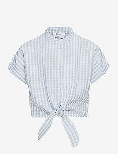 Aros Check Shirt - hemden - light blue