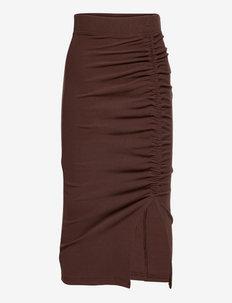 Clea Skirt - röcke - brown