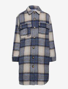 Katja Long Shirt - shirts - stone blue