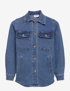 Else Autentic Blue Sjacket - skjorter - blue