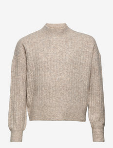 Cherry Knit - jumpers - coffee brown