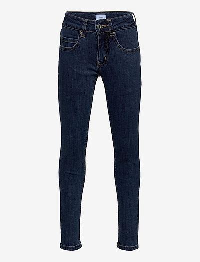 Stay Plain Dk. Blue - jeans - plain dk. blue