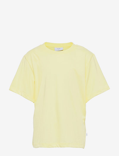 Our Asta Big Tee - short-sleeved - yellow