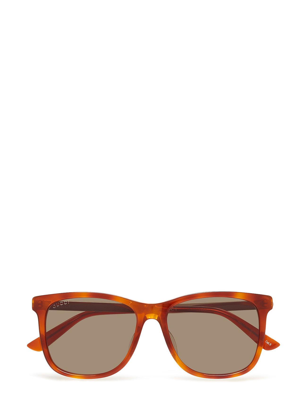 Gucci Sunglasses GG0078SK - AVANA-GOLD-GREEN