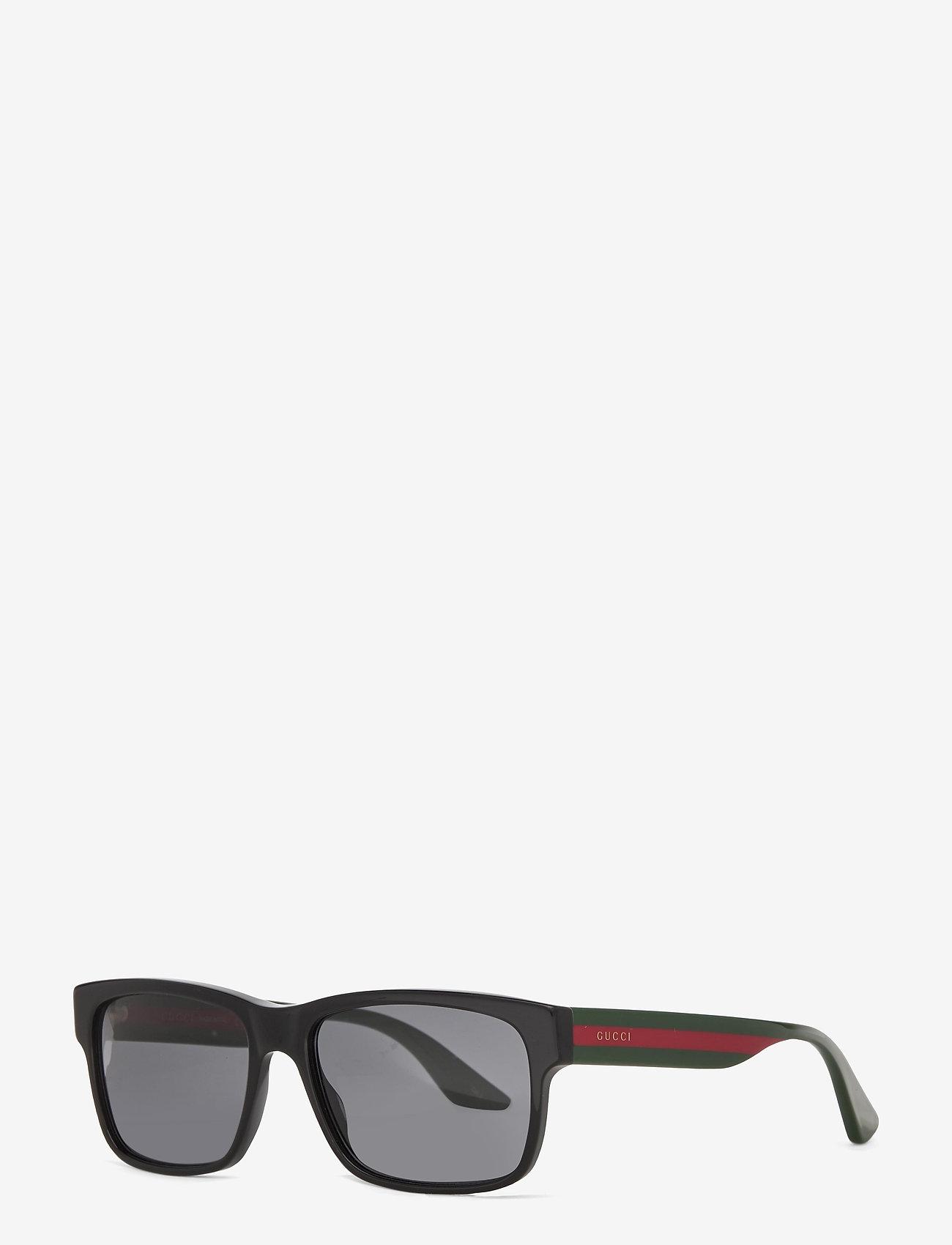 Gucci Sunglasses - GG0340S - black-multicolor-grey - 1