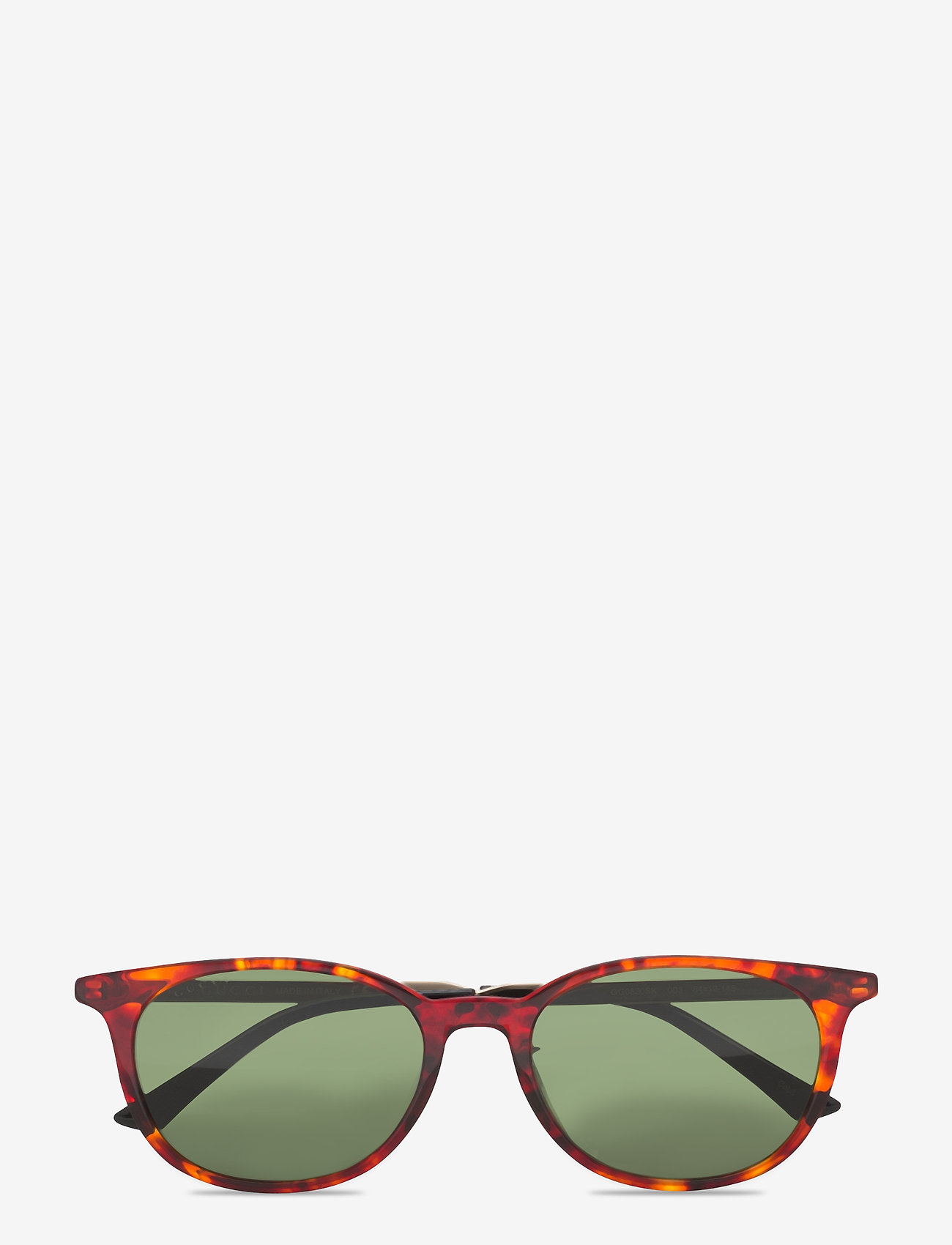 Gucci Sunglasses - GG0830SK - rund ramme - havana-gold-green - 0
