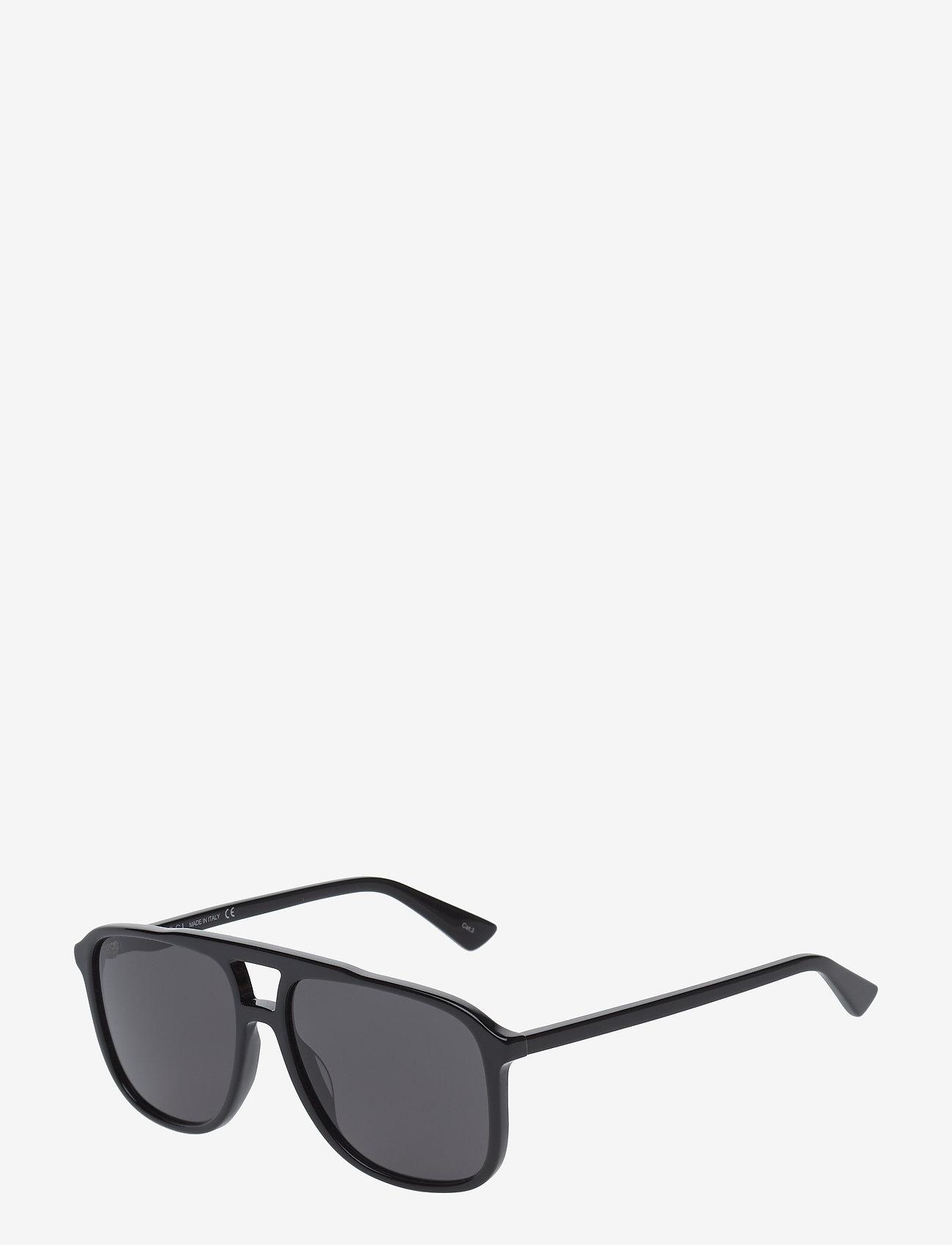 Gucci Sunglasses - GG0262S - pilottilasit - black-black-grey