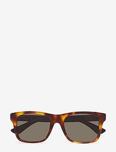 GG0008S - okulary przeciwsłoneczne w kształcie litery d - avana-black-grey