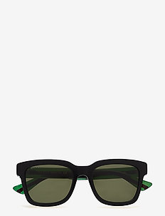 GG0001S - d-muotoiset - black-green-green