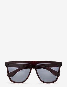 GG0582S - okulary przeciwsłoneczne w kształcie litery d - havana-havana-blue