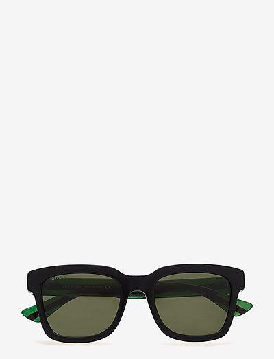 GG0001S - d-shaped - black-green-green