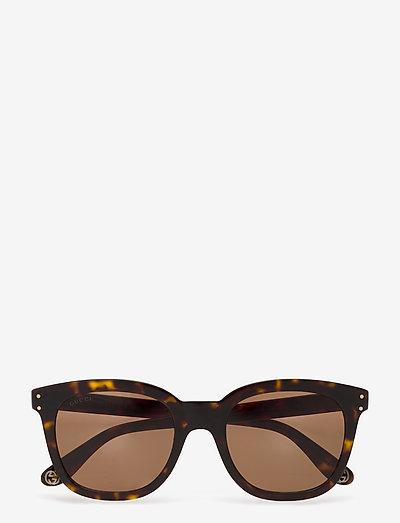 GG0571S - d-shaped - havana-havana-brown