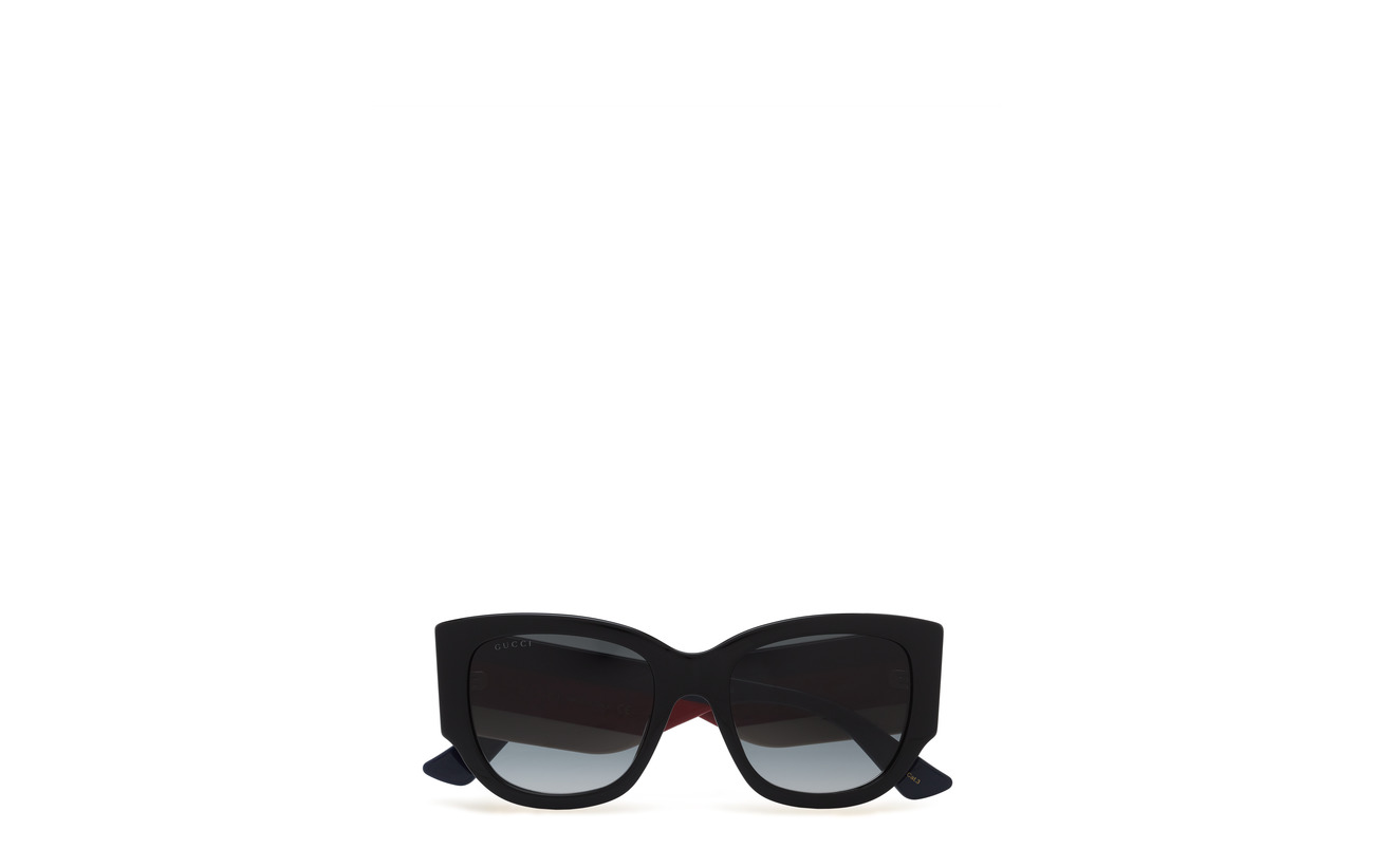 Gucci Sunglasses GG0276S - BLACK-MULTICOLOR-GREY