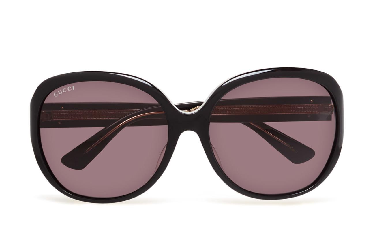 Gucci Sunglasses GG0080SK - BLACK-BLACK-GREY