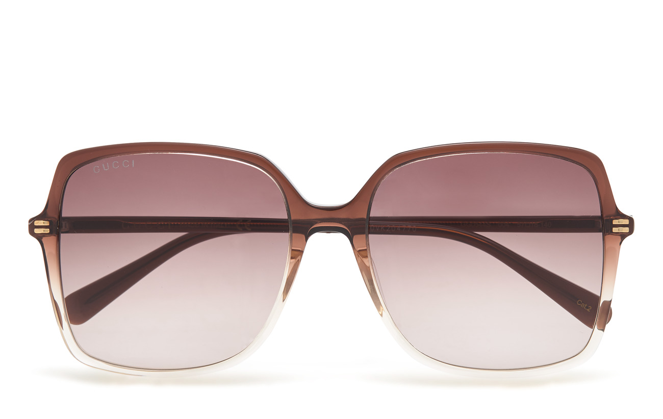 Gucci Sunglasses GG0544S - BROWN-BROWN-VIOLET