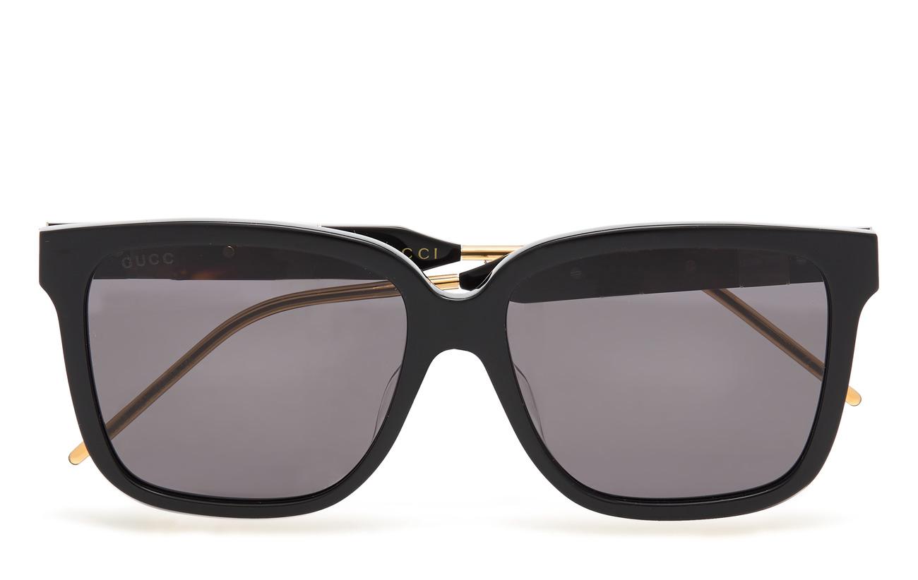 Gucci Sunglasses GG0599SA - BLACK-BLACK-GREY