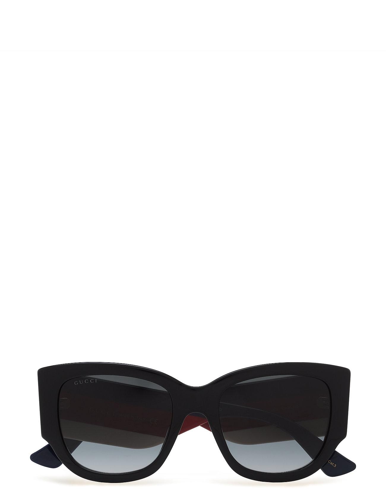 a06a15bd67f4 Gg0276s wayfarer solbriller fra Gucci til dame i BLACK-MULTICOLOR ...