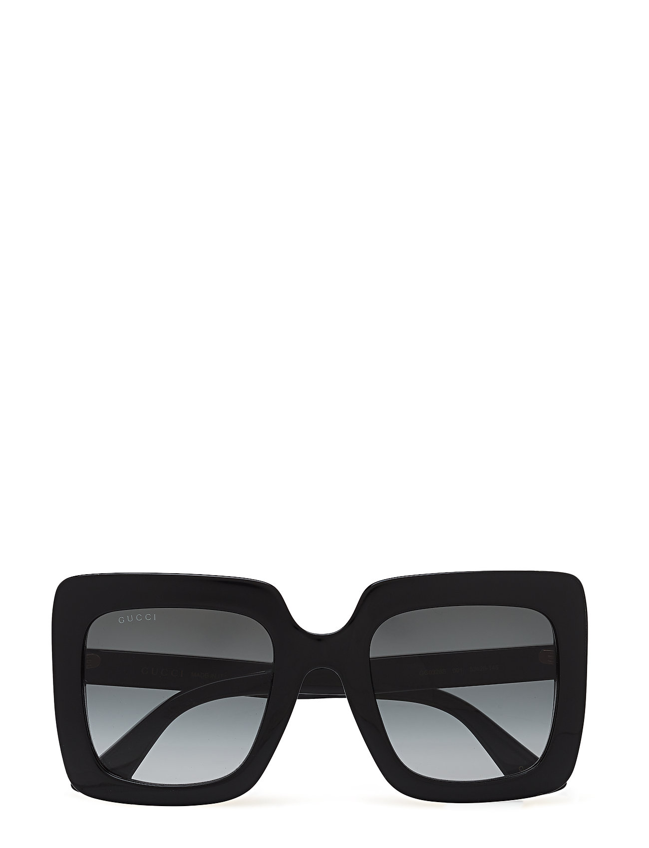Gucci Sunglasses GG0328S - BLACK-BLACK-GREY