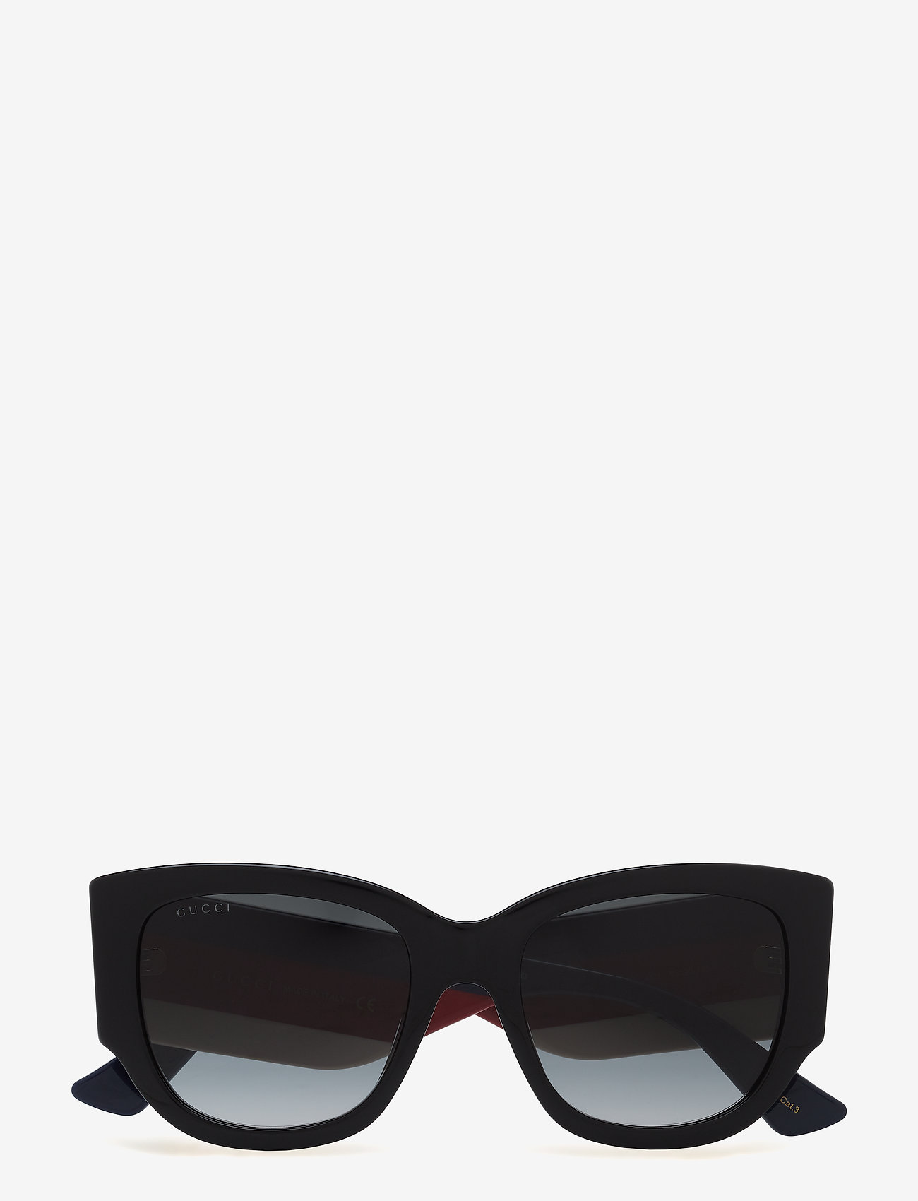 Gucci Sunglasses - GG0276S - d-shaped - black-multicolor-grey - 0