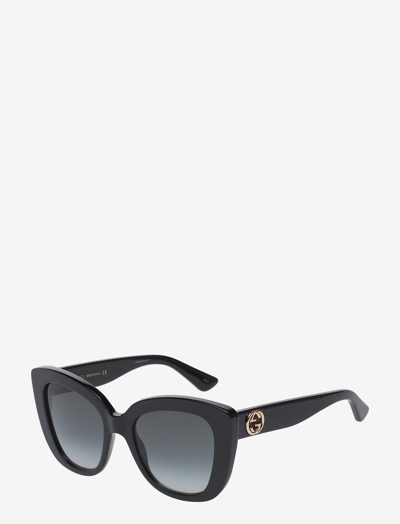 Gucci Sunglasses - GG0327S - cat-eye - black-black-grey - 1