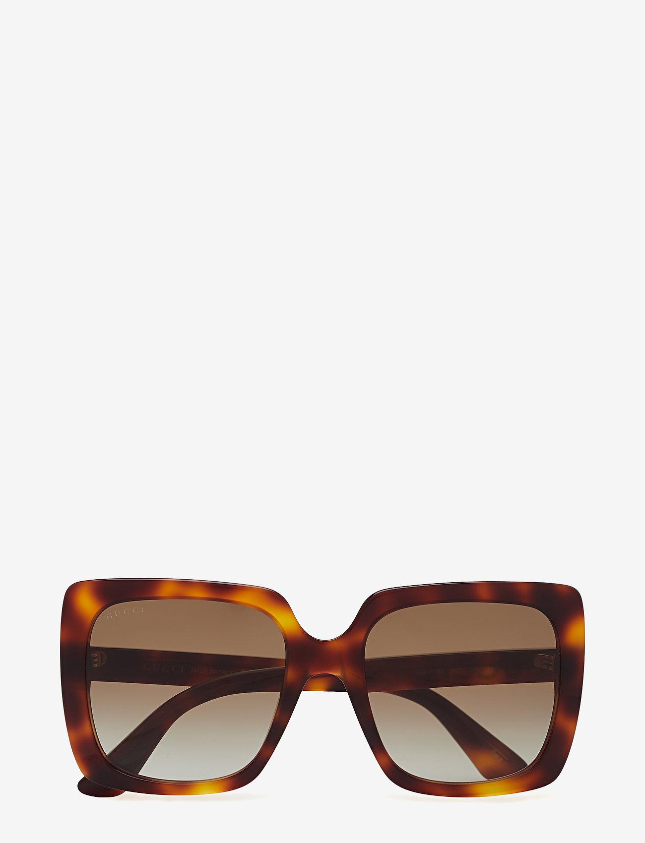Gucci Sunglasses - GG0418S - neliökehys - havana-havana-brown - 0