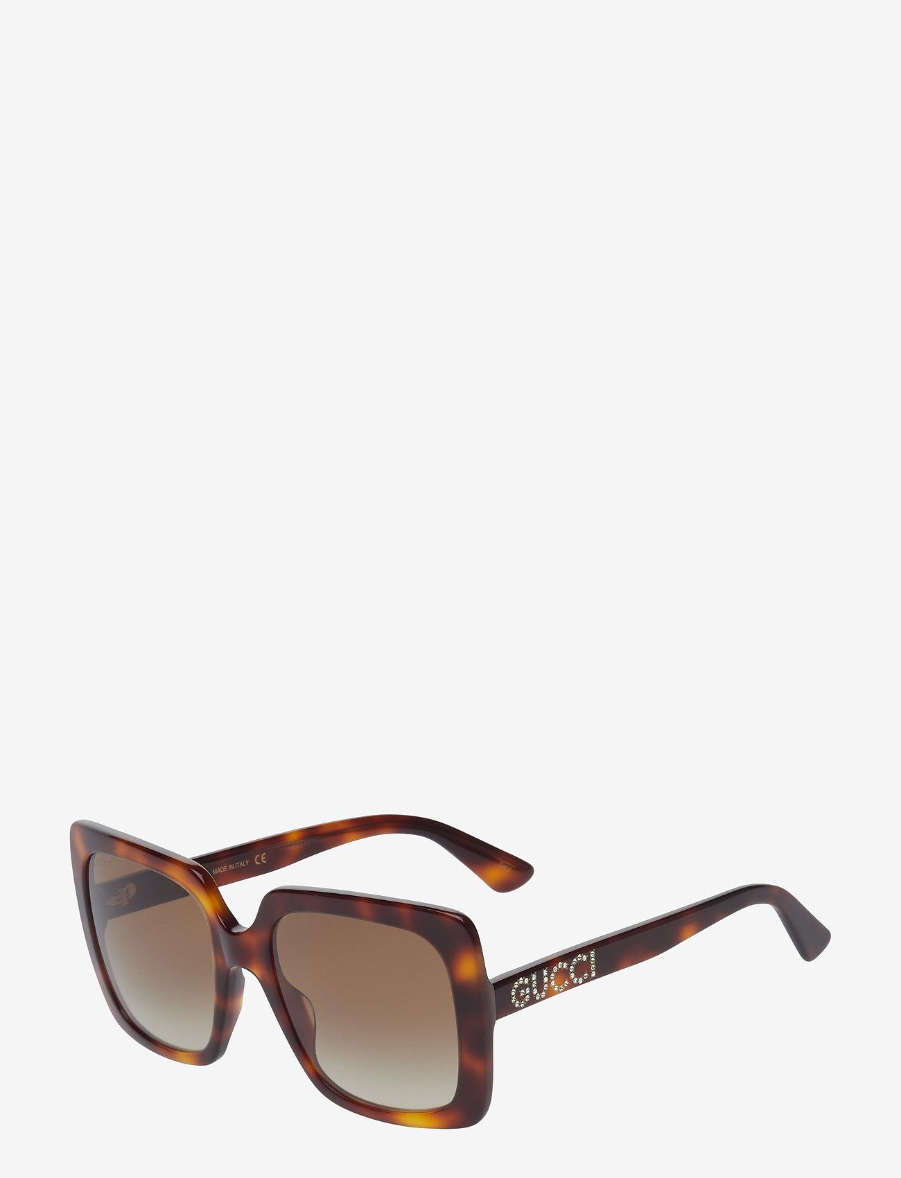 Gucci Sunglasses - GG0418S - neliökehys - havana-havana-brown - 1
