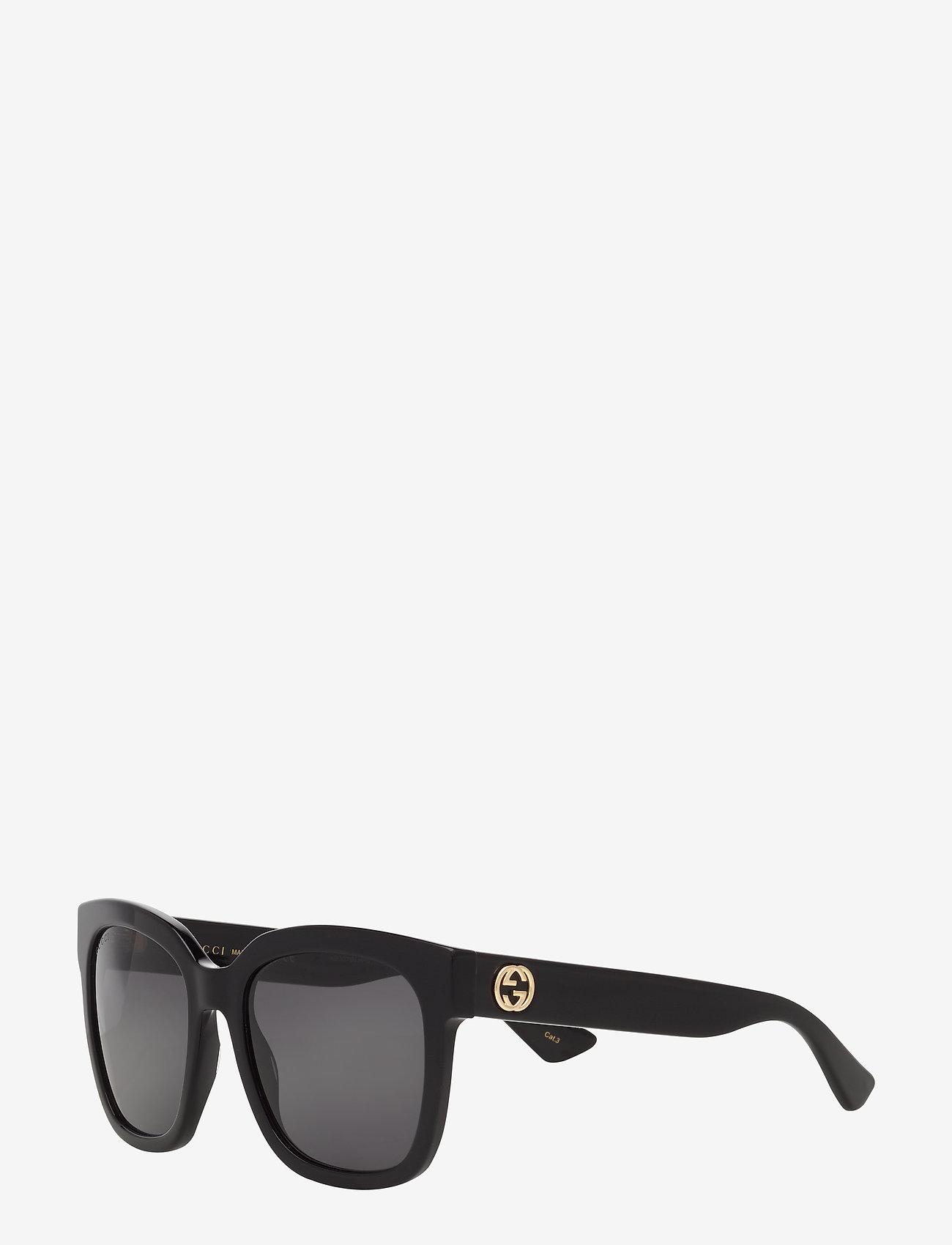 Gucci Sunglasses - GG0034S - d-muotoiset - black-black-grey - 1