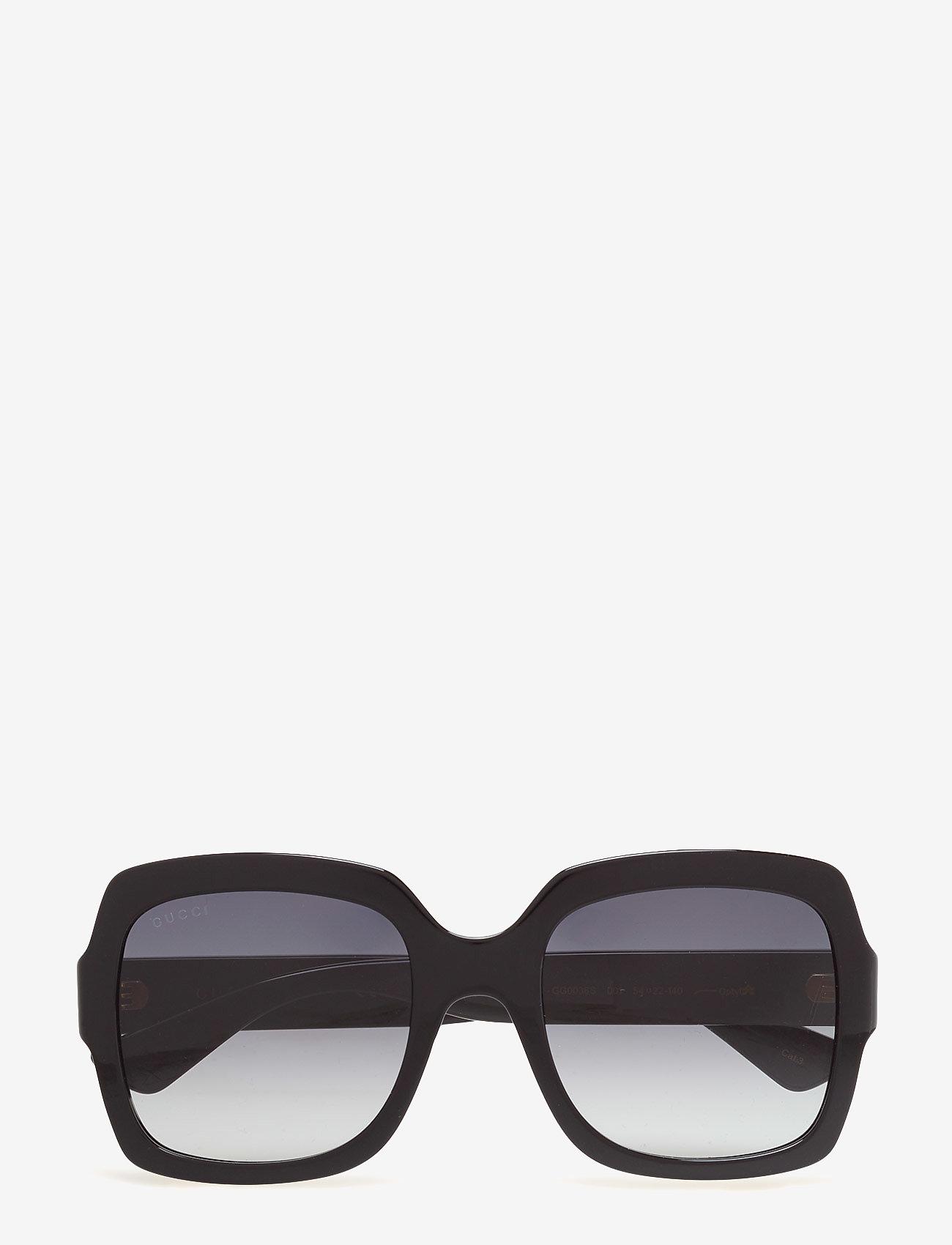 Gucci Sunglasses - GG0036S - square frame - black-black-grey - 0