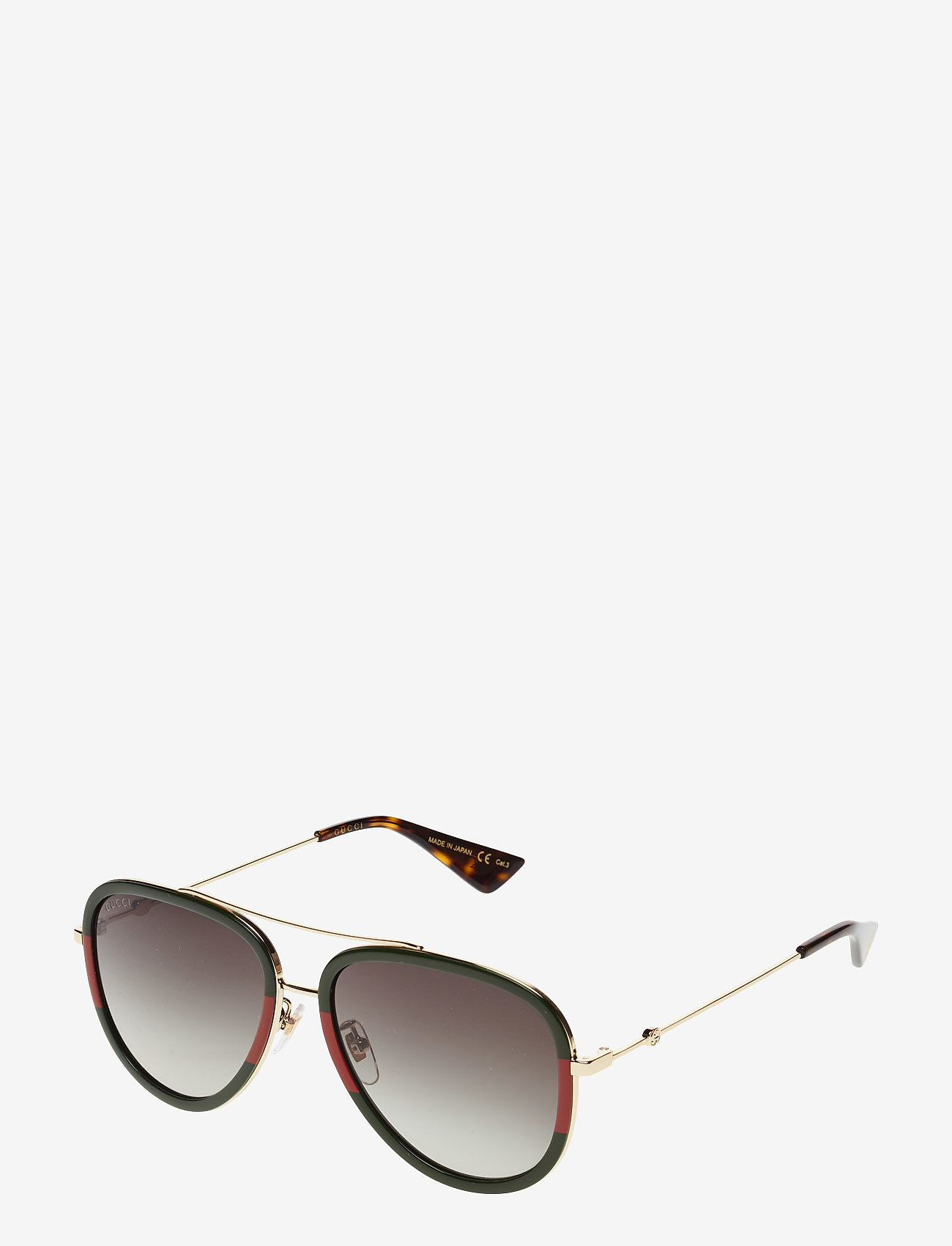 Gucci Sunglasses - GG0062S - pilot - gold-gold-green - 1