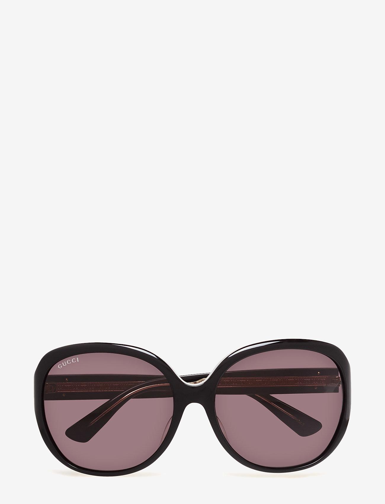 Gucci Sunglasses - GG0080SK - round frame - black-black-grey - 0