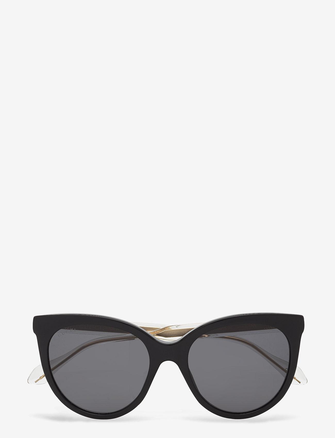 Gucci Sunglasses - GG0565S - cat-eye - black-crystal-grey - 0