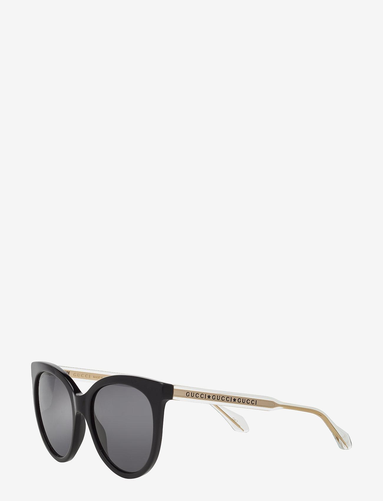Gucci Sunglasses - GG0565S - cat-eye - black-crystal-grey - 1