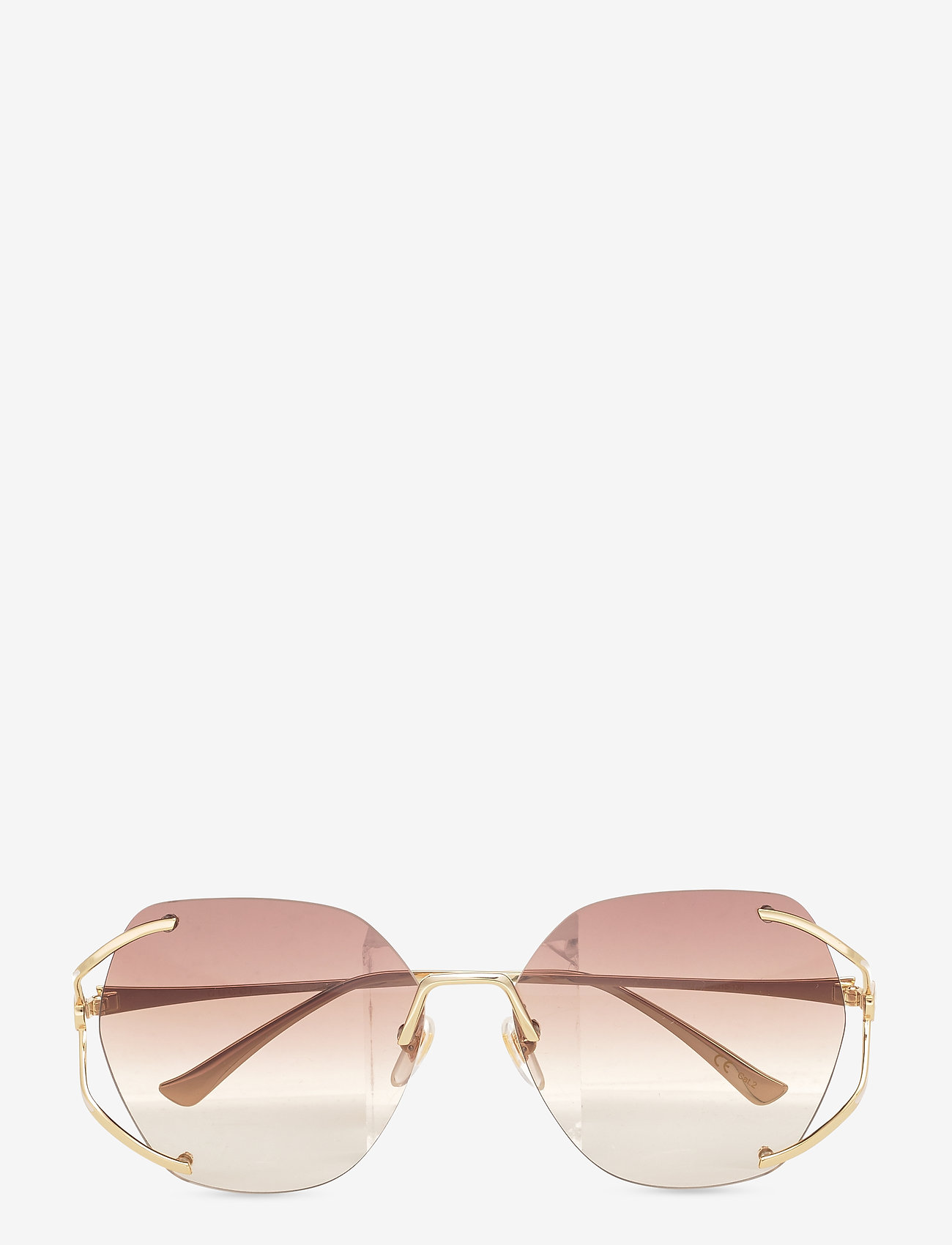 Gucci Sunglasses - GG0651S - rond model - gold-gold-brown - 0